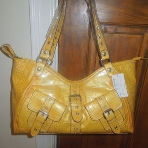 New Yellow Fashion Bag
